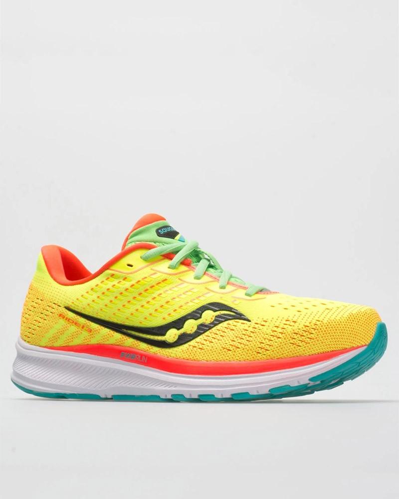 Scarpe Corsa Running Sneakers UOMO Saucony Giallo Ride 13 M Neutre 0