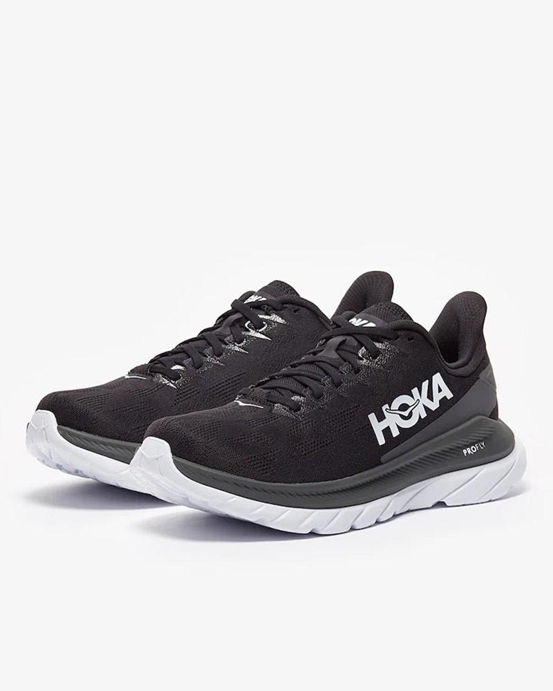 Scarpe Corsa Running Sneakers UOMO Hoka ONE ONE Nero MACH 4 5 mm Veloci Airmesh 0