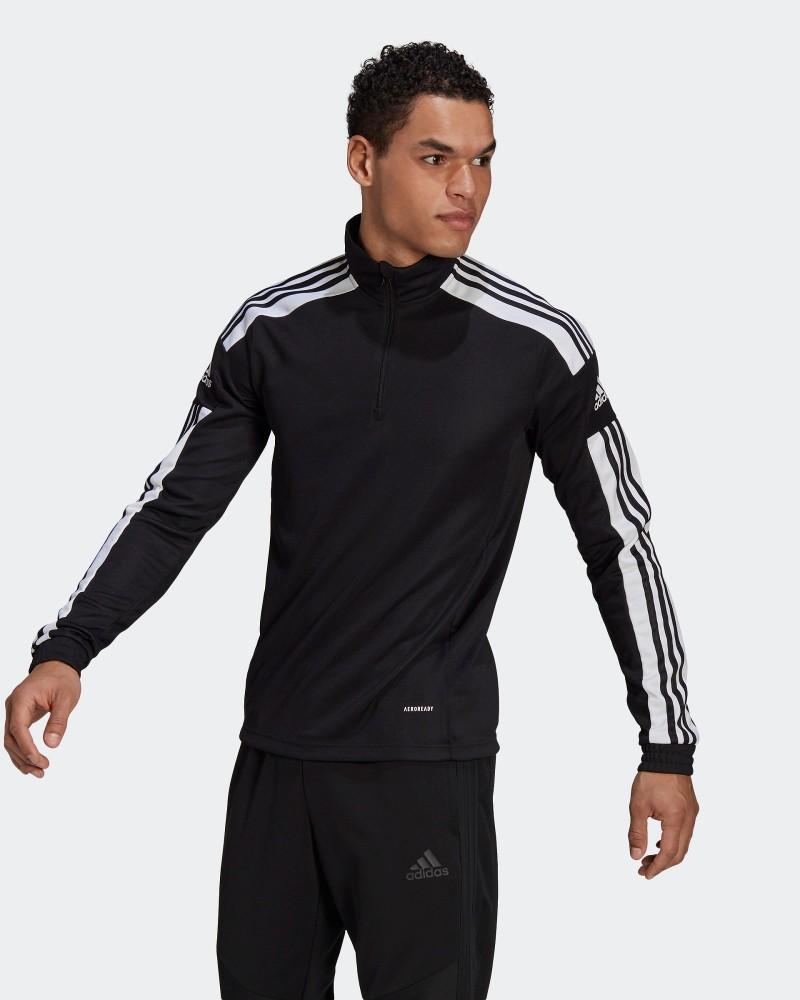 Felpa Allenamento Training Sweatshirt UOMO Adidas SQUADRA 21 Nero 0