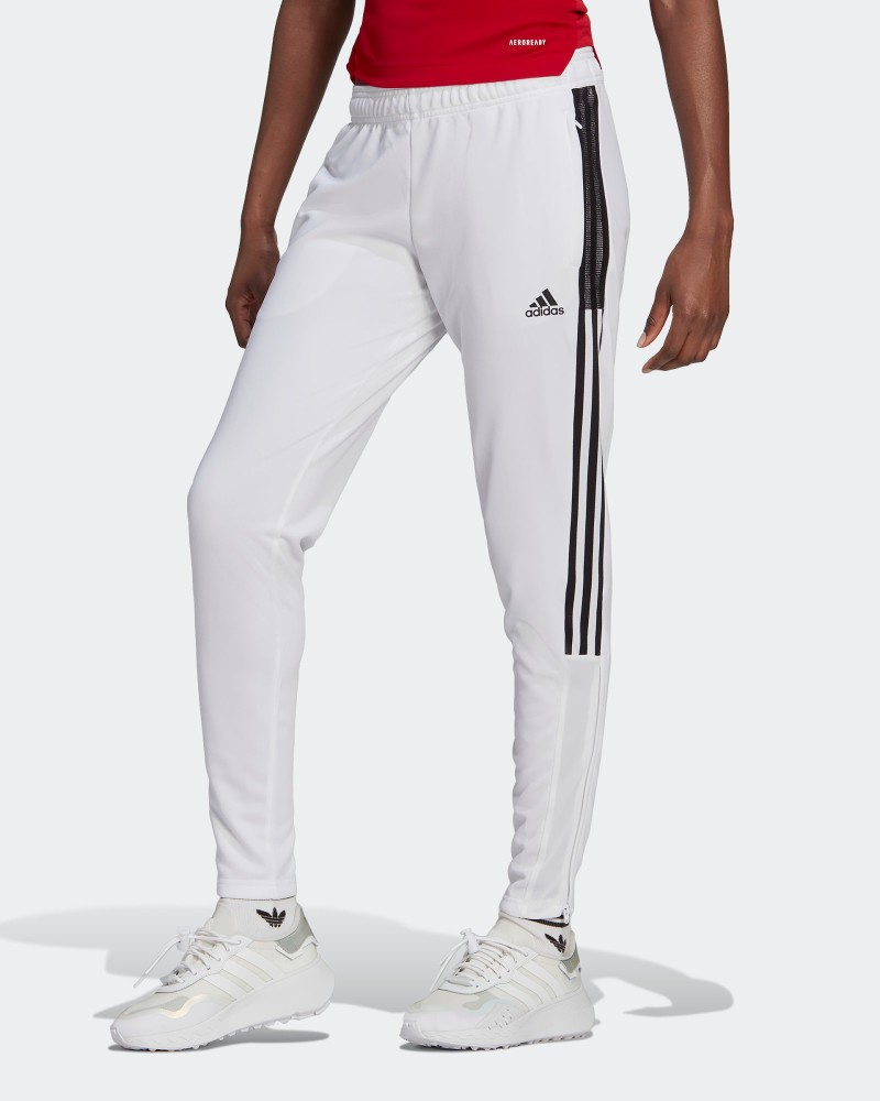 Pantaloni tuta Pants UOMO Adidas Bianco poliestere AEROREADY 2021 TIRO Track 0