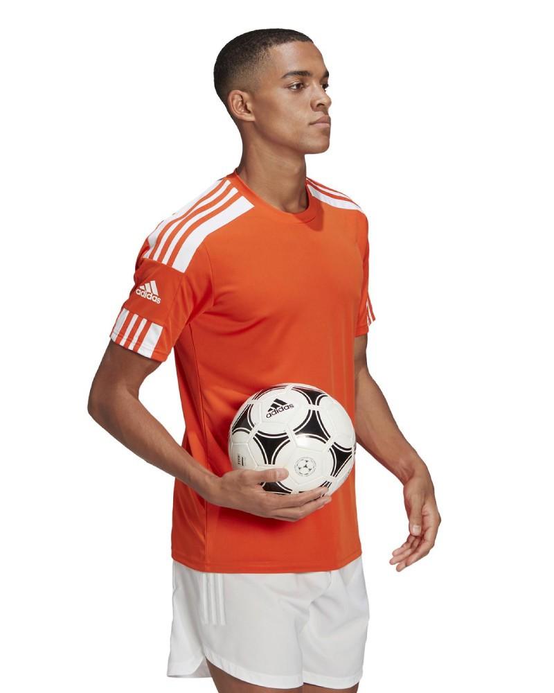 Maglia Allenamento Training UOMO Adidas S/S Arancione SQUADRA 21 JERSEY 2021 0