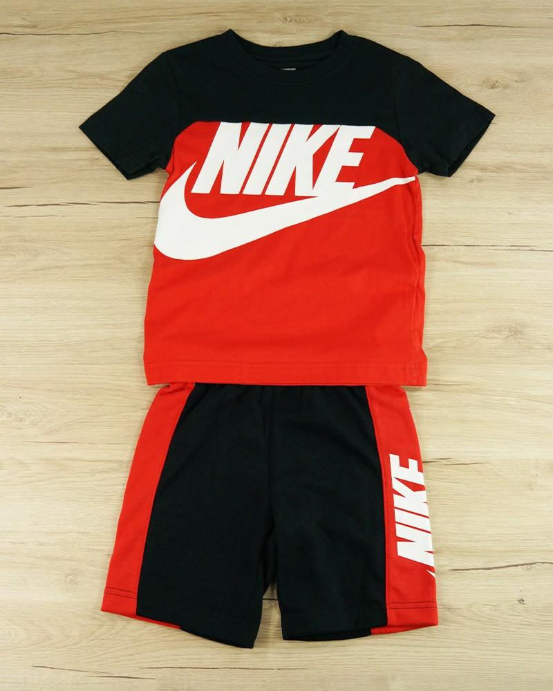 Completo Estive tempo libero Bambini Unisex Nike T-Shirt maglia pantaloncini 0