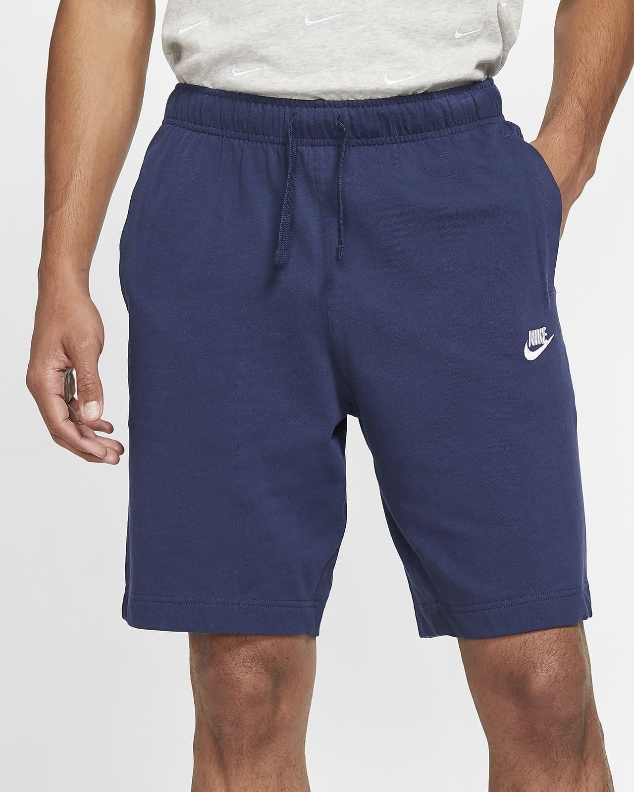 Pantaloncini Shorts UOMO Nike Blu Sportswear CLUB Tasche senza zip 2021 0