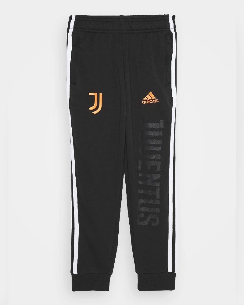 Juventus Adidas Pantaloni tuta Pants Ragazzo Bambino Nero Cotone 2020 21 0