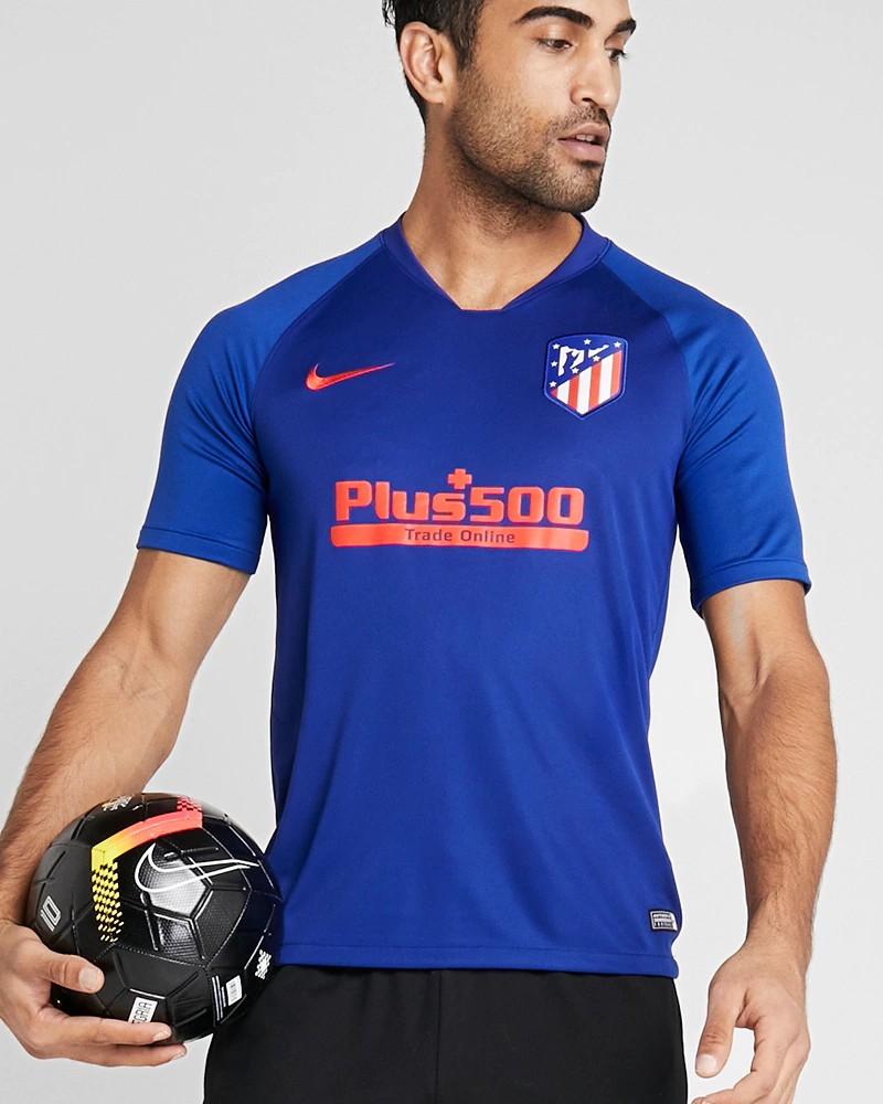 Atletico Madrid Nike Maglia Allenamento Training UOMO Blu Strike Top 2020 0