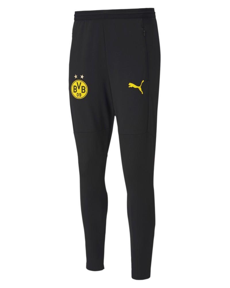Borussia Dortumnd Puma Pantaloni tuta Pants Nero UOMO 2020 21 pro stadium 0