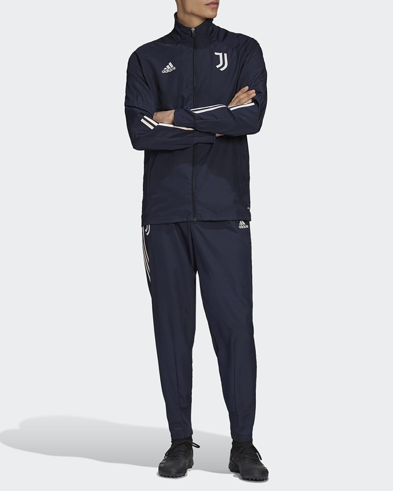 Juventus Adidas Tuta Rappresentanza 2020/21 UOMO Blu Presentation 0