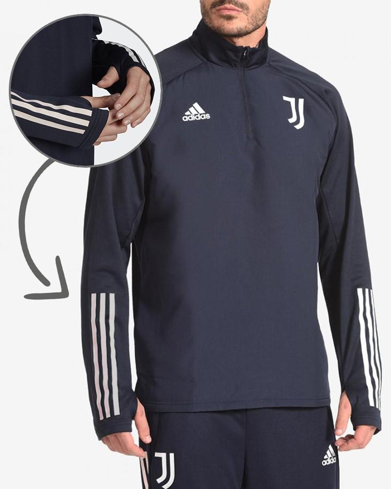Juventus Adidas Warm Top Felpa Allenamento Training Sweatshirt UOMO AEROREADY 0