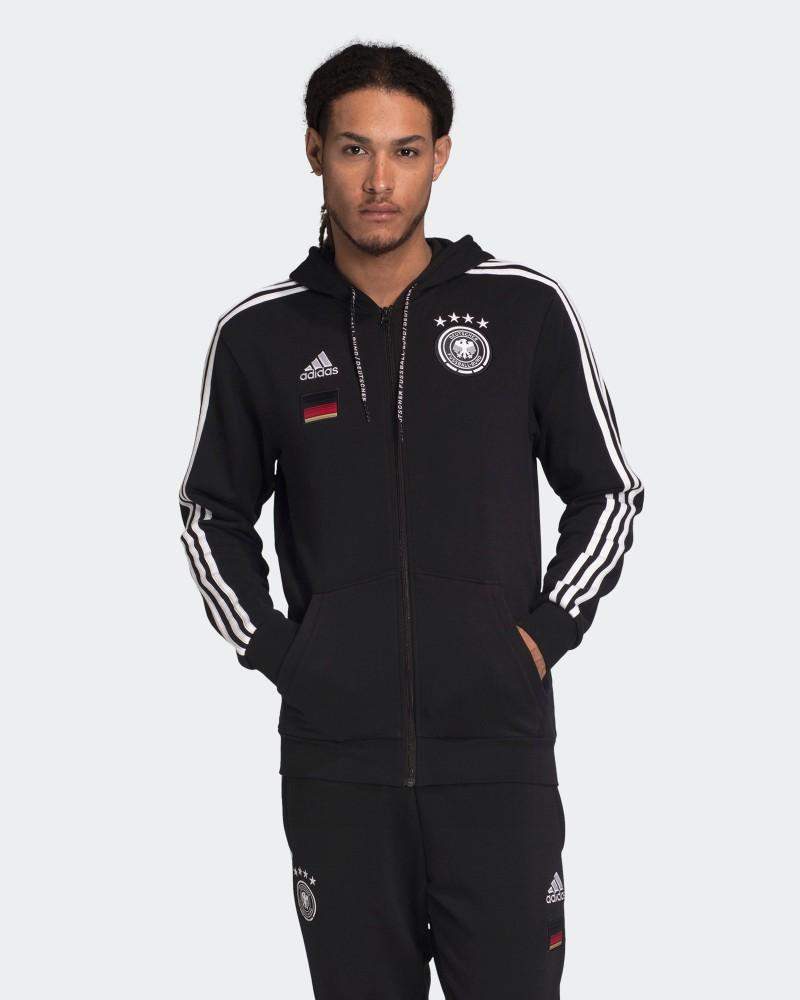 Germania Germany Adidas Giacca Felpa sportiva Jacket Euro 2021 Hoodie 3S FZ 0