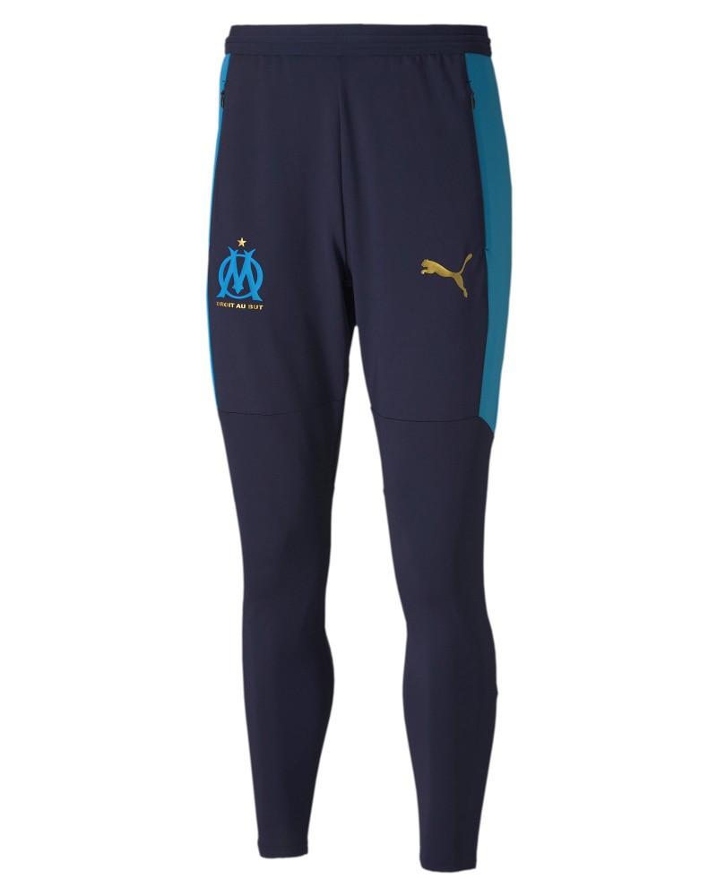 Marsiglia OM Olympique Puma Pantaloni tuta Pants Blu UOMO 202021 0