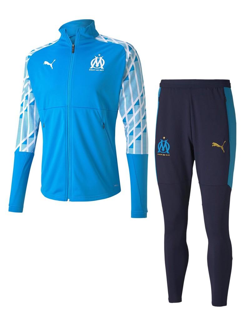 Marsiglia OM Olympique Puma Tuta Allenamento Training 2020 21 Stadium Pre Match 0