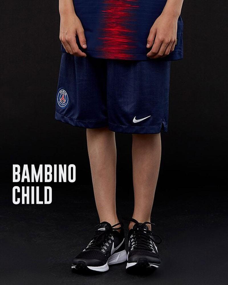 PSG Nike Pantaloncini Shorts Stadium Home Away Bambino Blu 2018 19 0