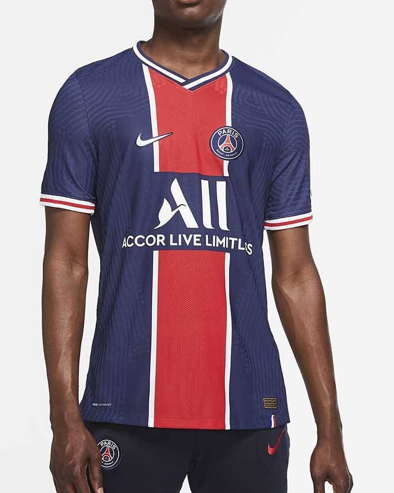PSG Nike Vapor Match Home Player ISSUE Maglia Calcio UOMO Blu 2020 21 Home 0