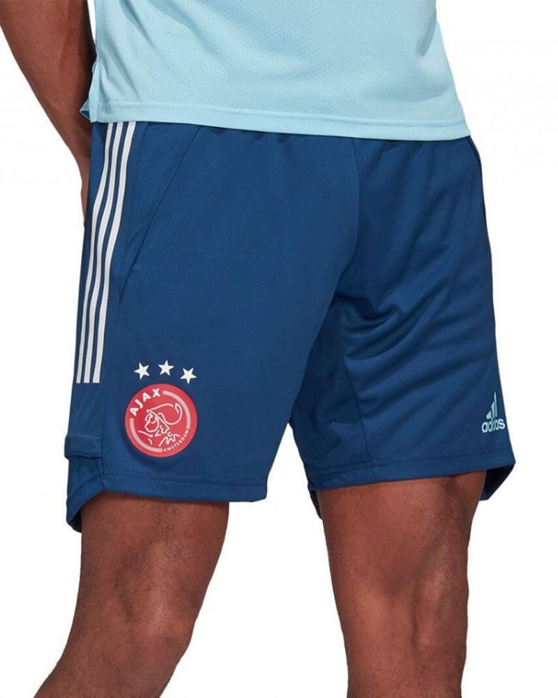 Ajax Amsterdam Adidas Pantaloncini Shorts UOMO 2020 21 Blu Training 0