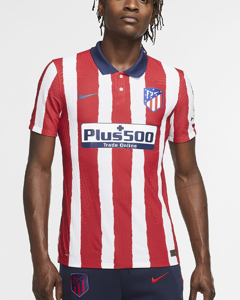 Atletico Madrid Nike Vapor Match Maglia Calcio Autenthic Player Issue 2020 21 0