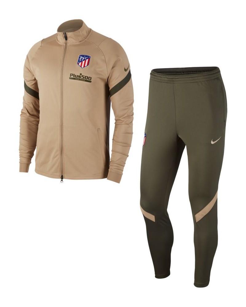 Atletico Madrid Nike Tuta Allenamento Training UOMO Beige 2020 21 0