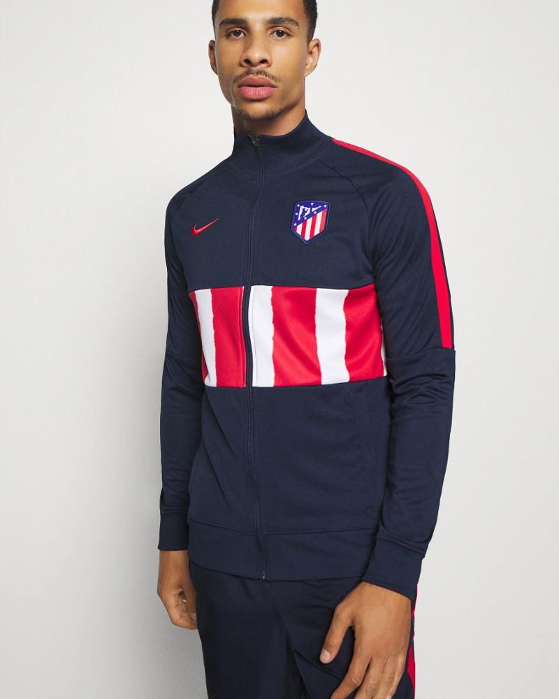 Atletico Madrid Nike Giacca Tuta Pre Match UOMO Grigio 2020 21 L96 Anthem 0