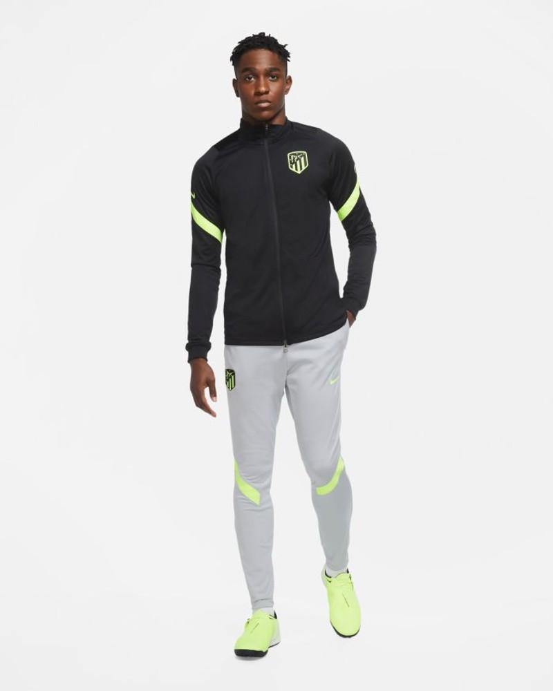Atletico Madrid Nike Tuta Intera Allenamento Training 2020 21 UOMO Nero 0