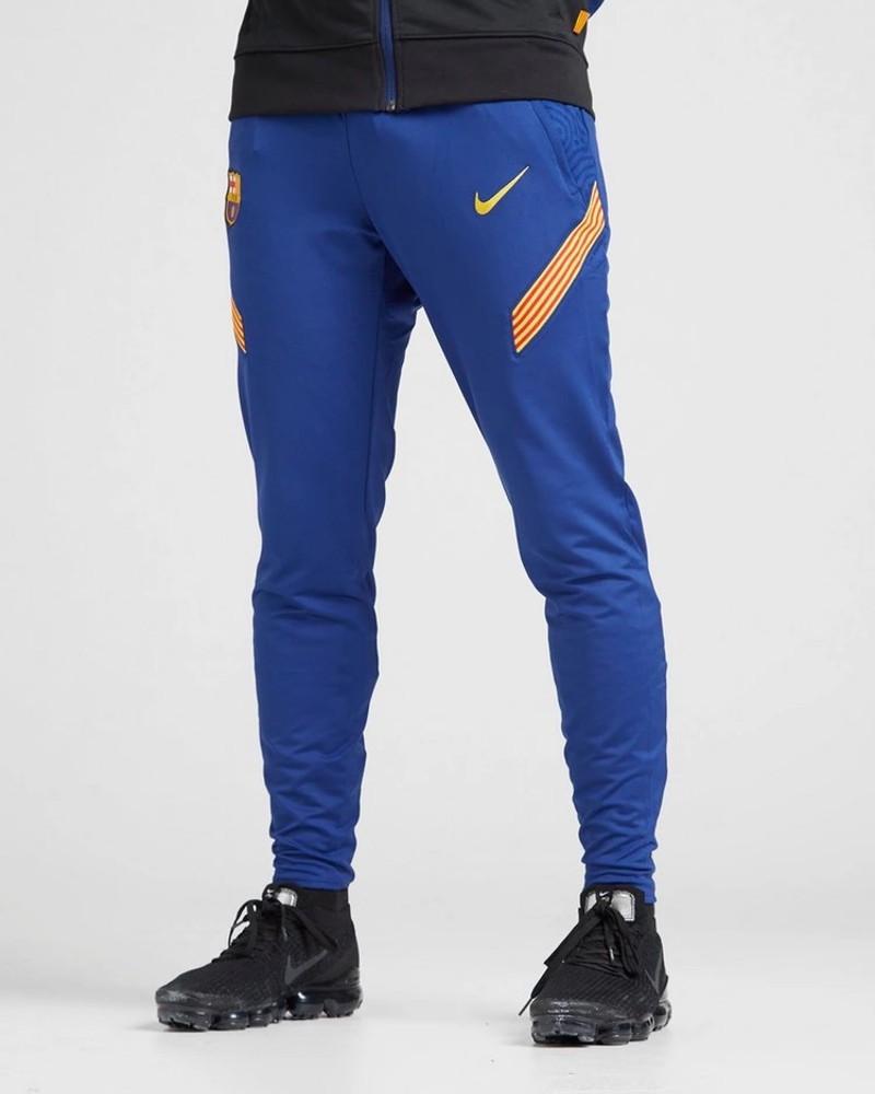 Barcellona Nike Pantaloni tuta Pants UOMO Blu 2020 21 Training Dry Strike 0