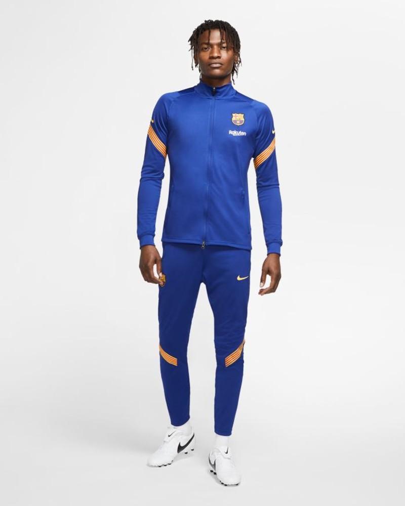 Barcellona Nike Tuta Allenamento Training Dry Strike UOMO Blu 2020 21 0