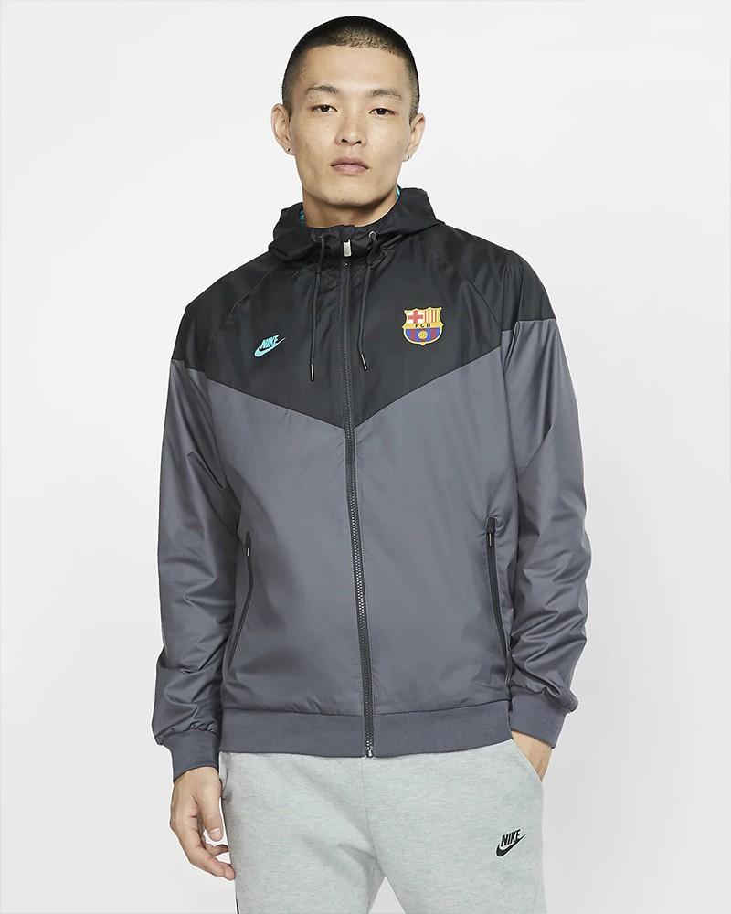 Barcellona Nike Giacca Sportiva vento pioggia Jacket Windrunner 2019 20 Uomo 0