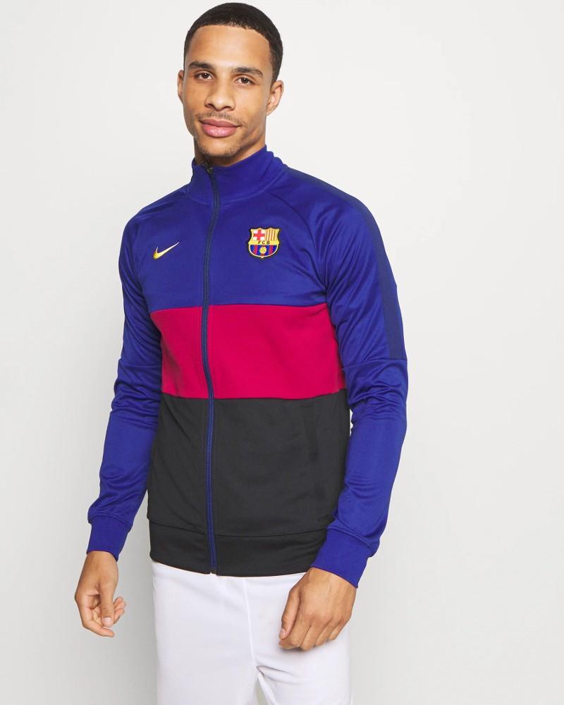 Barcellona Nike Giacca tuta pre match 2020 21 L96 Anthem UOMO Blue 0