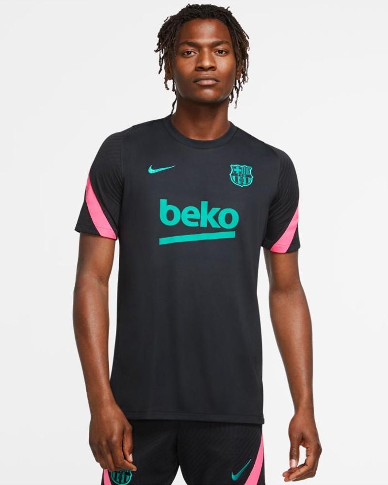 Barcellona Nike Maglia Allenamento Training Breathe Strike Top 2020 21 UOMO 0