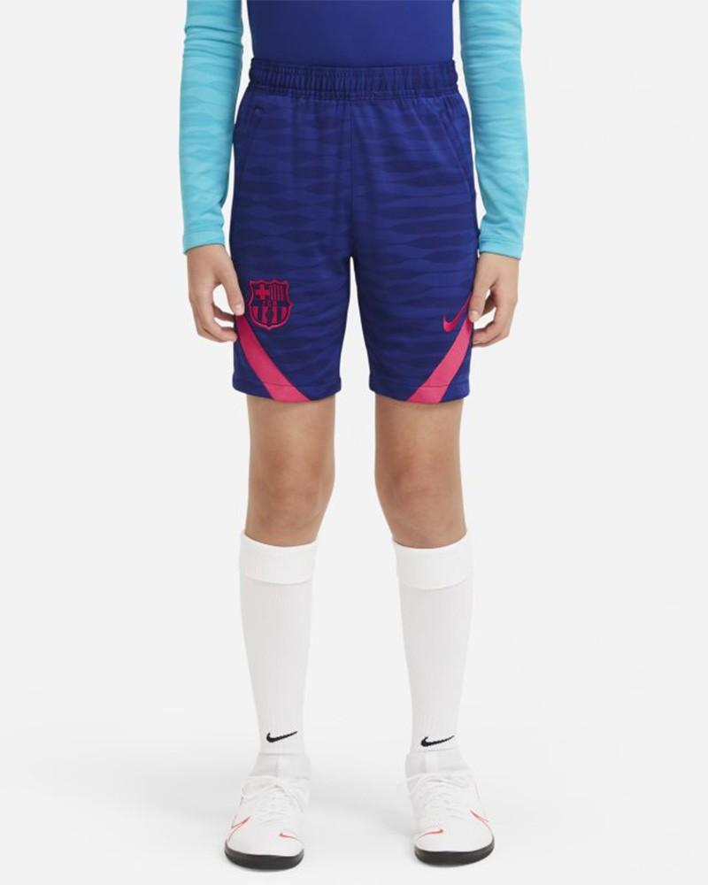 Barcellona Nike Pantaloncini Shorts UOMO Amaranto tasche con zip 2021 0