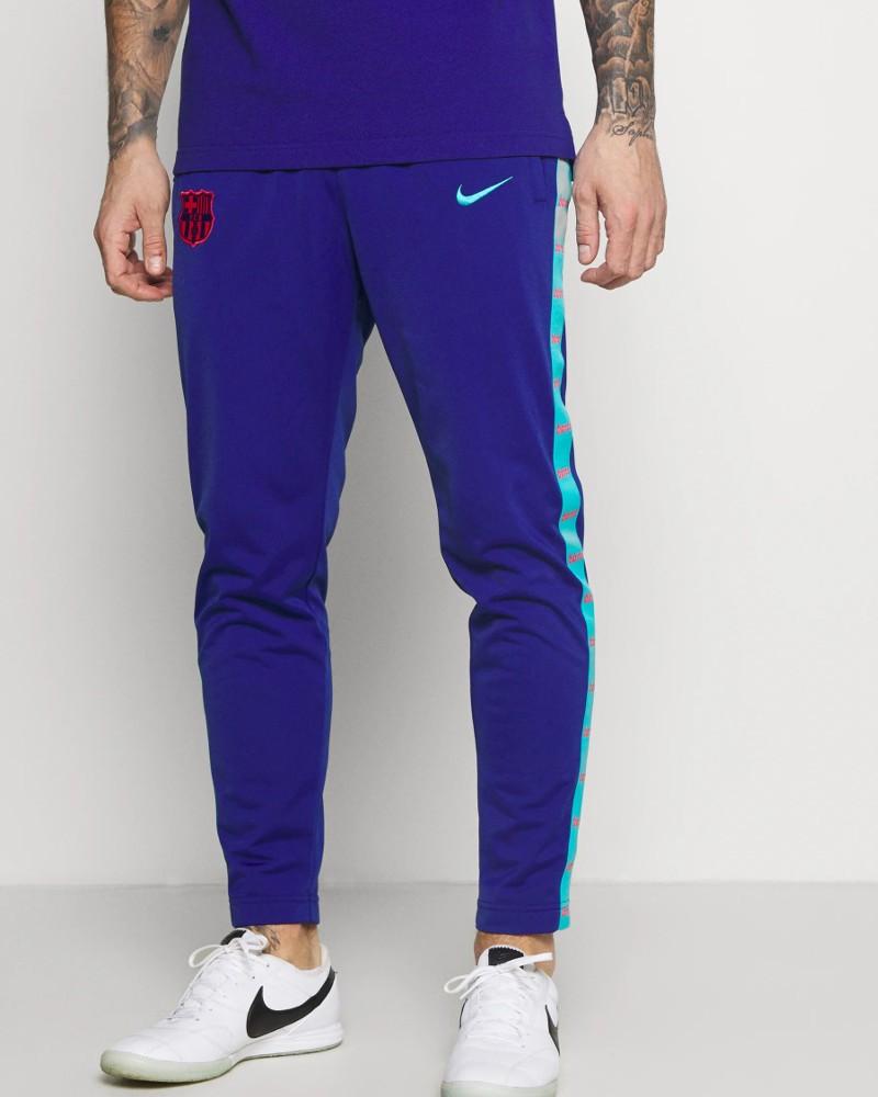 Barcellona Nike Pantaloni tuta Pants Blu UOMO poliestere 2021 JDI Tape Banda 0