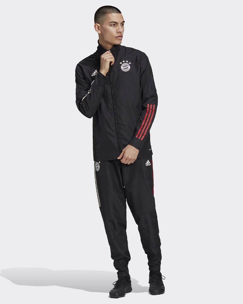 Bayern Monaco Adidas Tuta Rappresentanza UOMO Nero 2020/21 0