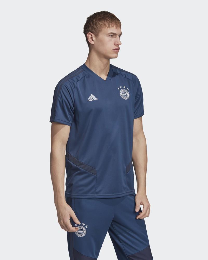 Bayern Monaco Adidas Maglia Allenamento Training Uomo Blu 2019 20 0