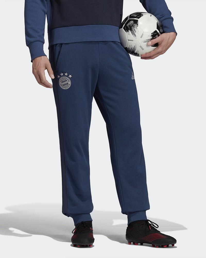 Bayern Monaco Adidas Pantaloni tuta Pants Blu Uomo Caviglia stretta Sweat Cuff 0