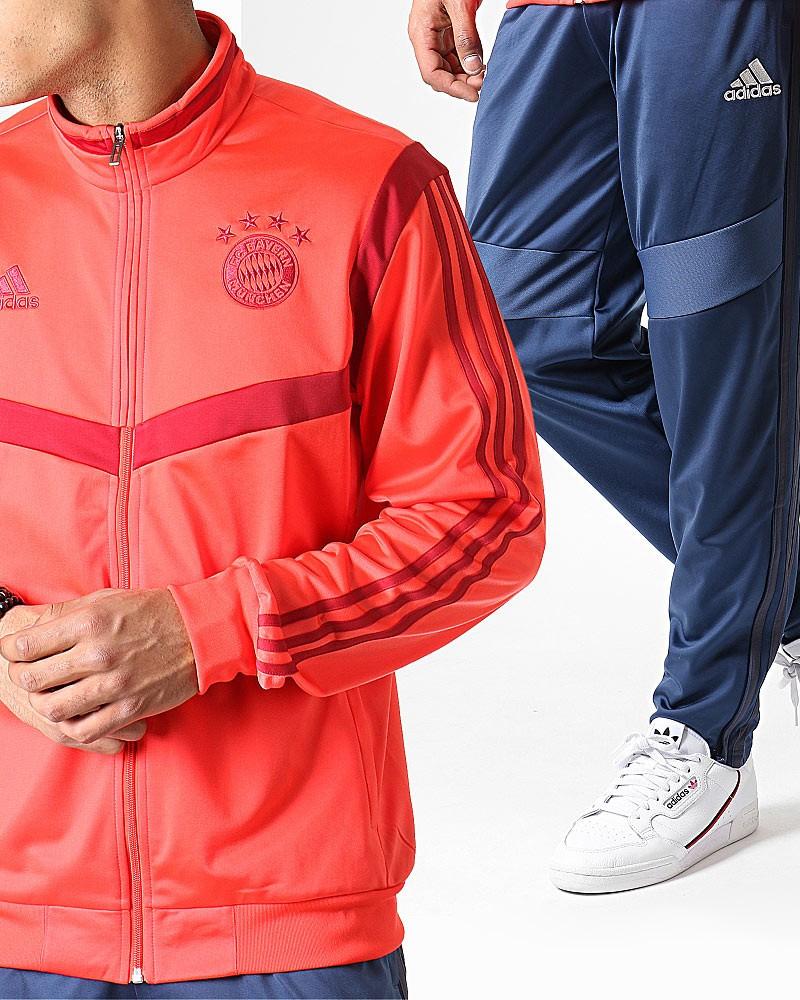Bayern Monaco Adidas Tuta Allenamento Training Pes Versione Panchina 2019 20 0