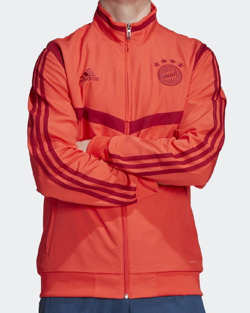 Bayern Monaco Adidas Giacca Rappressentanza Pres Jacket 2019 20 Rosso 0