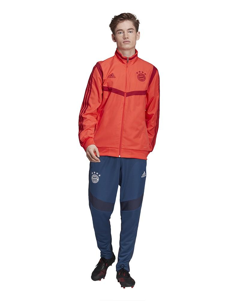 Bayern Monaco Adidas Tuta Rappresentanza Uomo Rosso Microfibra 2019 20 0