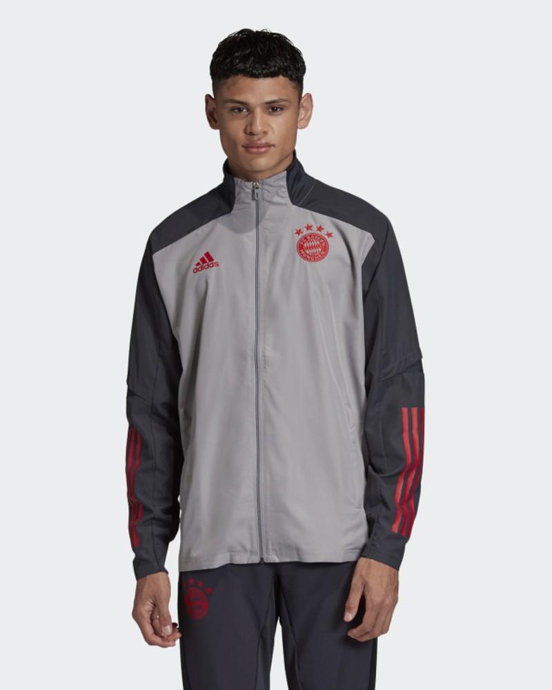 Bayern Monaco Adidas Giacca tuta rappresentanza 2020 21 Presentation UEFA 0