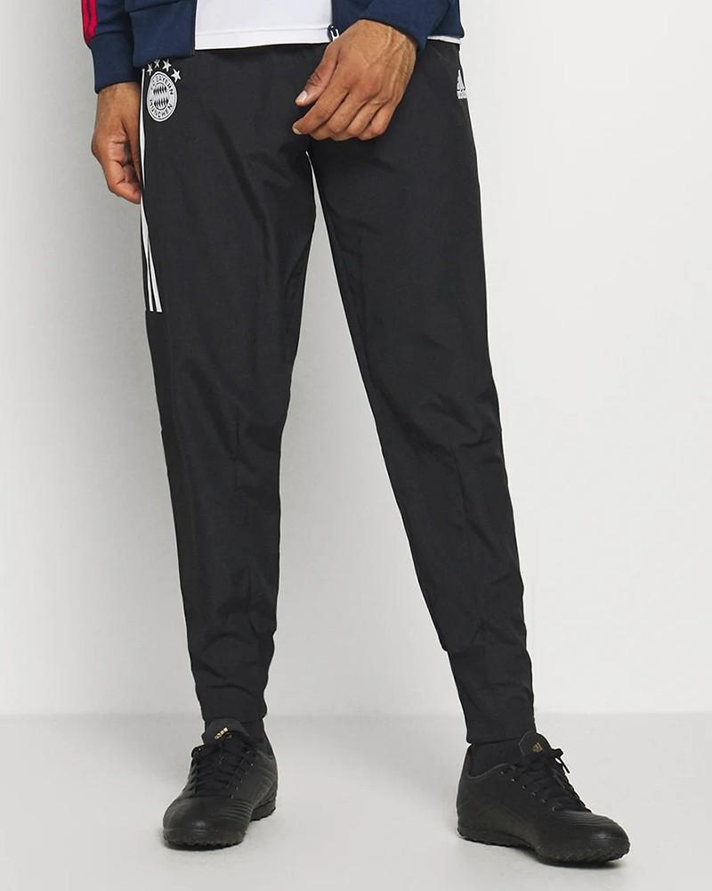 Bayern Monaco Adidas Pantaloni tuta rappresentanza UOMO Nero 2020 21 0