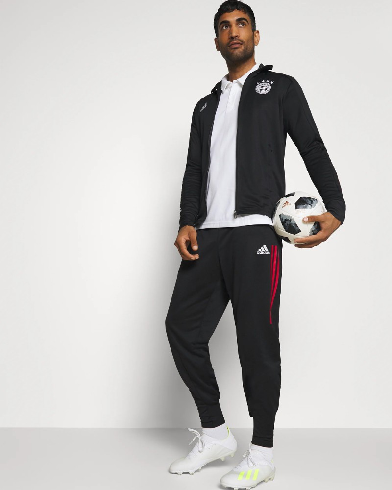 Bayern Monaco Adidas Tuta Allenamento Training UOMO Nero 202 021 0