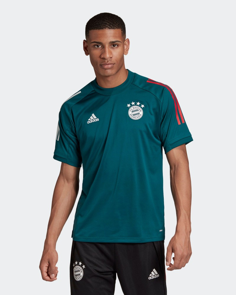 Bayern Monaco Adidas Maglia Allenamento Training UOMO Verde AEROREADY Training 0