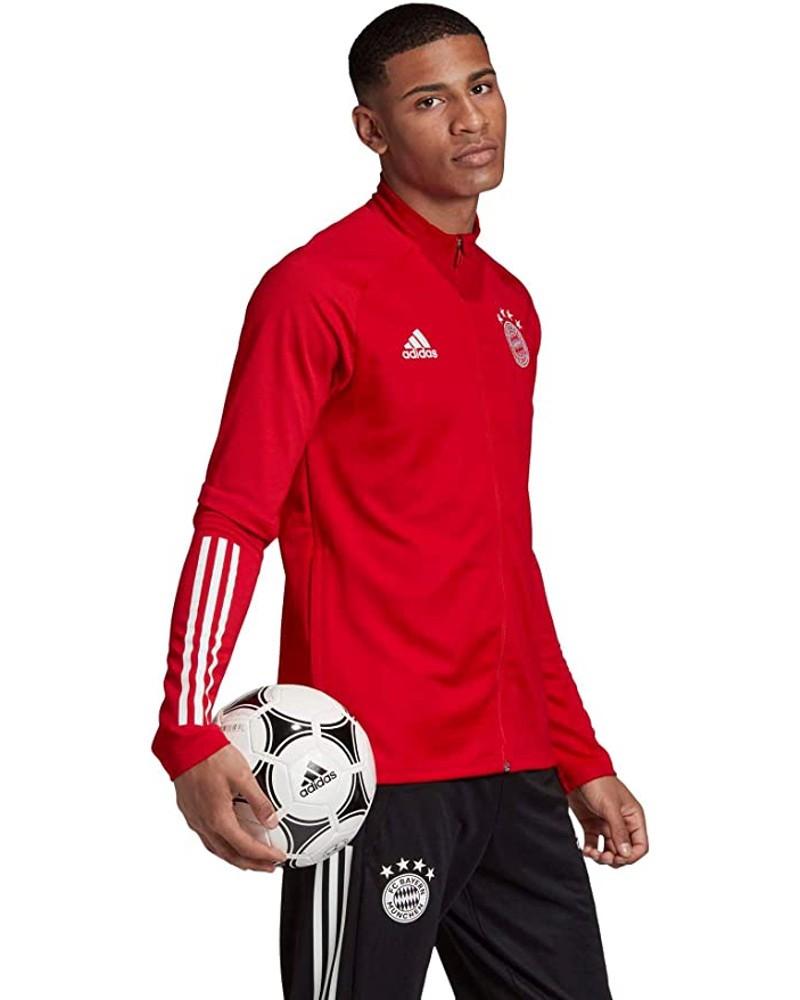 Bayern Monaco Adidas Giacca Allenamento Training 2020 21 UOMO Rosso AEROREADY 0