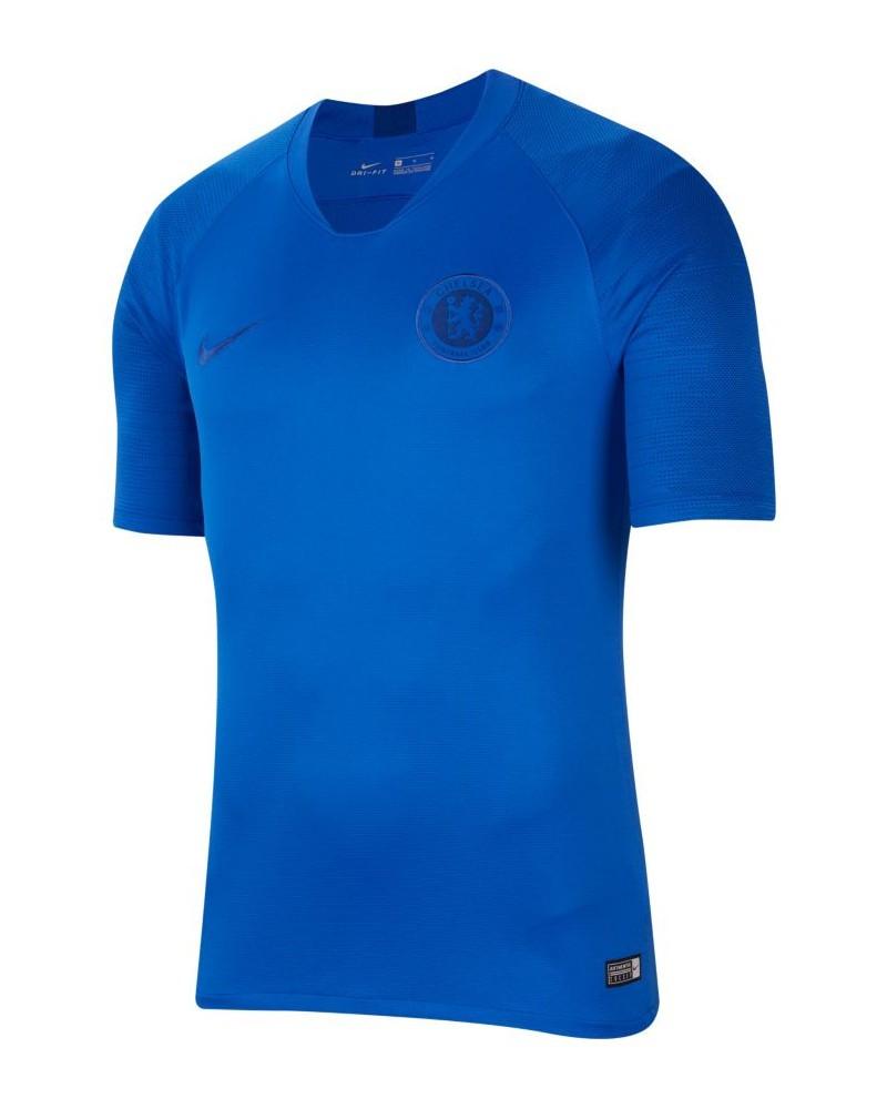 Chelsea Fc Nike Maglia Allenamento Training Breathe Strike Top Uomo Azzurro 0