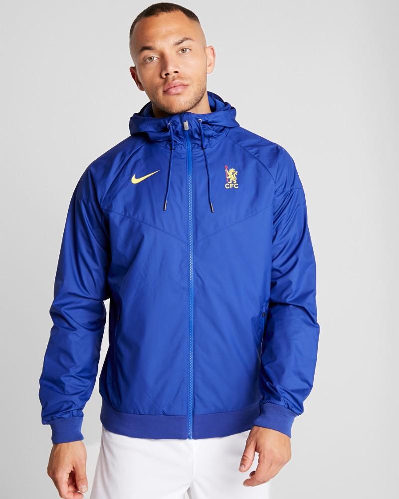Chelsea Fc Nike Giacca Sportiva Authentic Windrunner UOMO Blue 2020 Sportswear 0