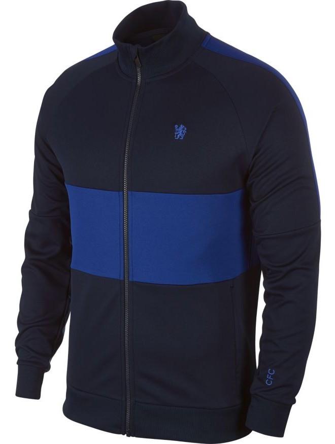 Chelsea Fc Nike Giacca Tuta Pre gara Jacket Uomo L96 2019 20 Blu 451 0