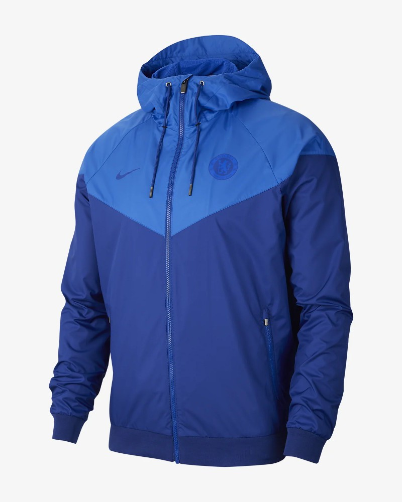 Chelsea Fc Nike Giacca Sportiva sport jacket Authentic Windrunner x UOMO Blue 0