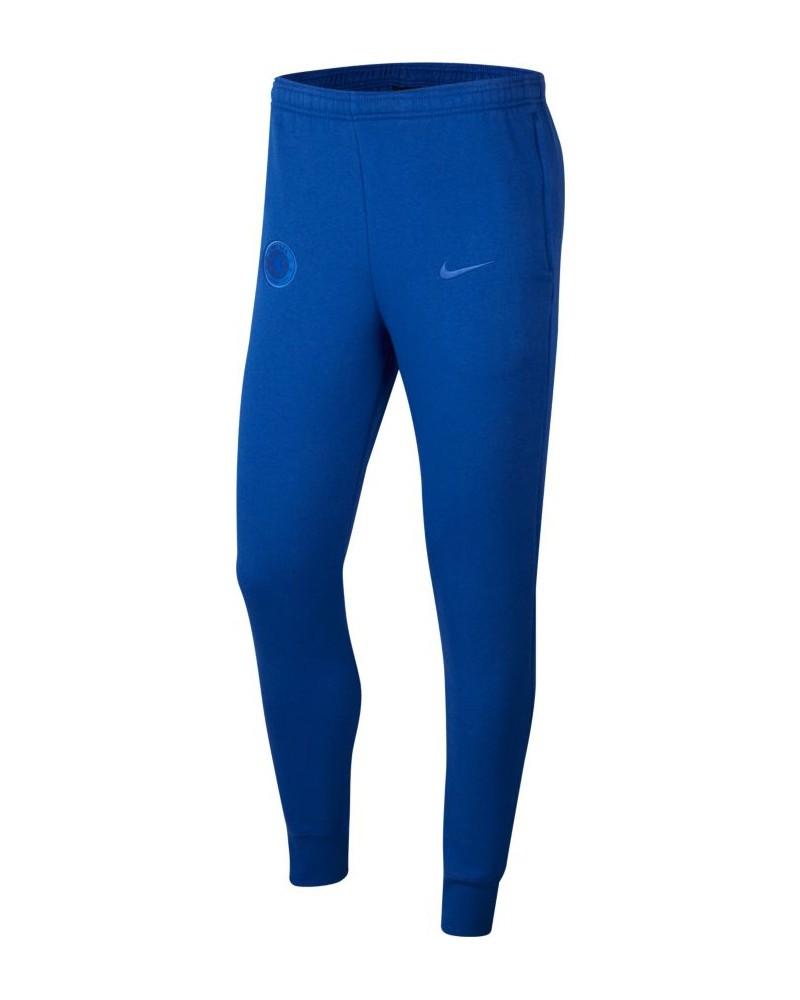 Chelsea Fc Nike Pantaloni tuta Pants 2020 Sweat Graphic Fleece Cuff Blu UOMO 0