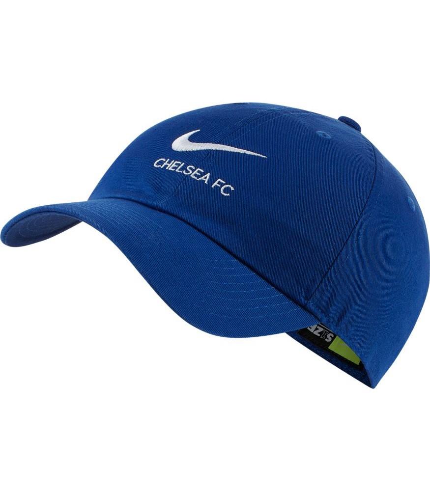Chelsea Fc Nike Heritage 86 Cappello Berretto Unisex Azzurro Cotone 0