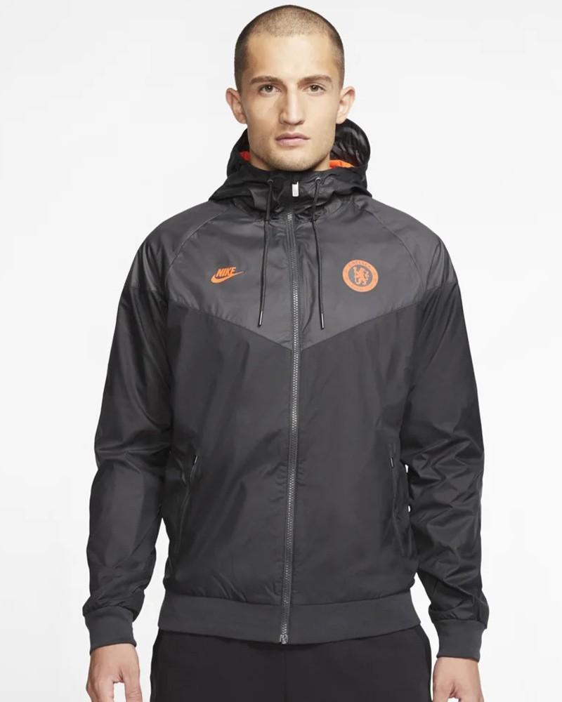 Chelsea Fc Nike Giacca Sportiva Sport Jacket 2020 Windrunner Nero 0