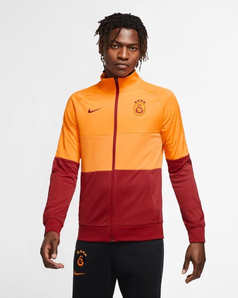 Galatasaray Nike Giacca Tuta Pre Match L96 UOMO Giallo Rosso 2020 21 0