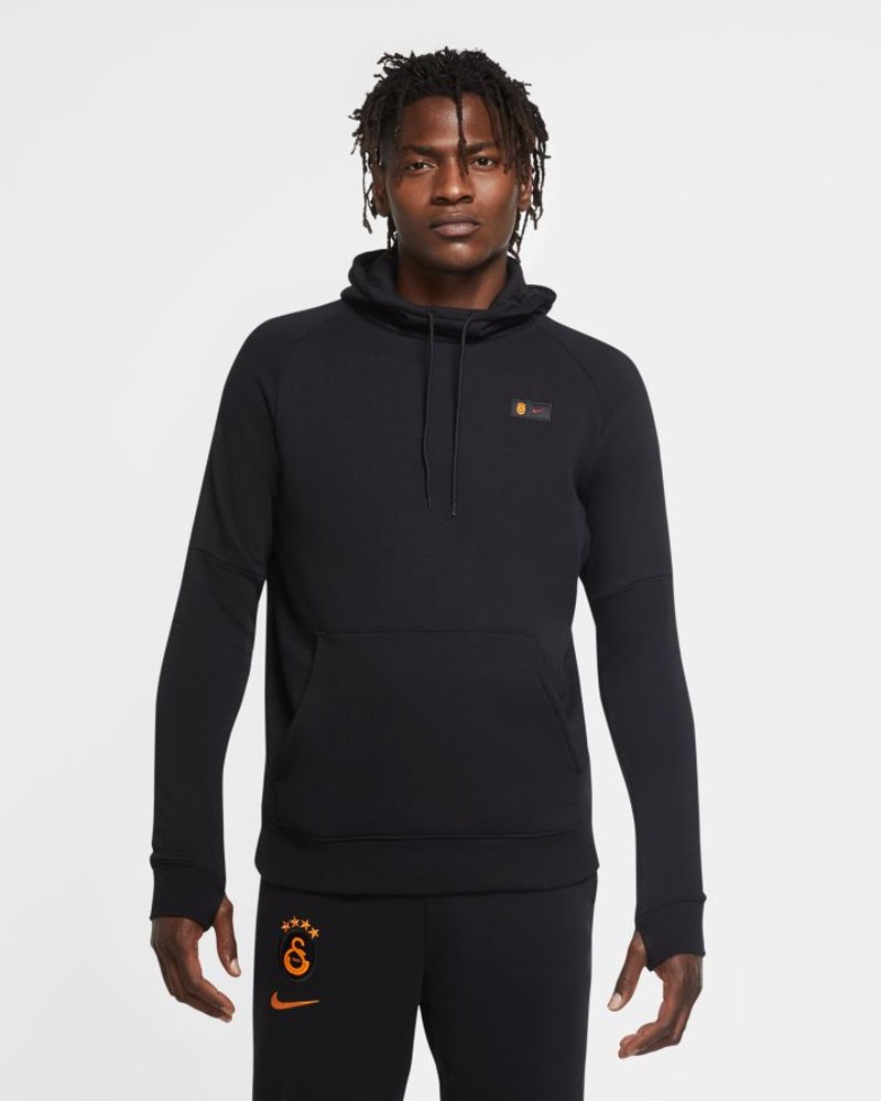 Galatasaray Nike Felpa Cappuccio Hoodie 2020 21 UOMO Pullover Fleece Sportswear 0