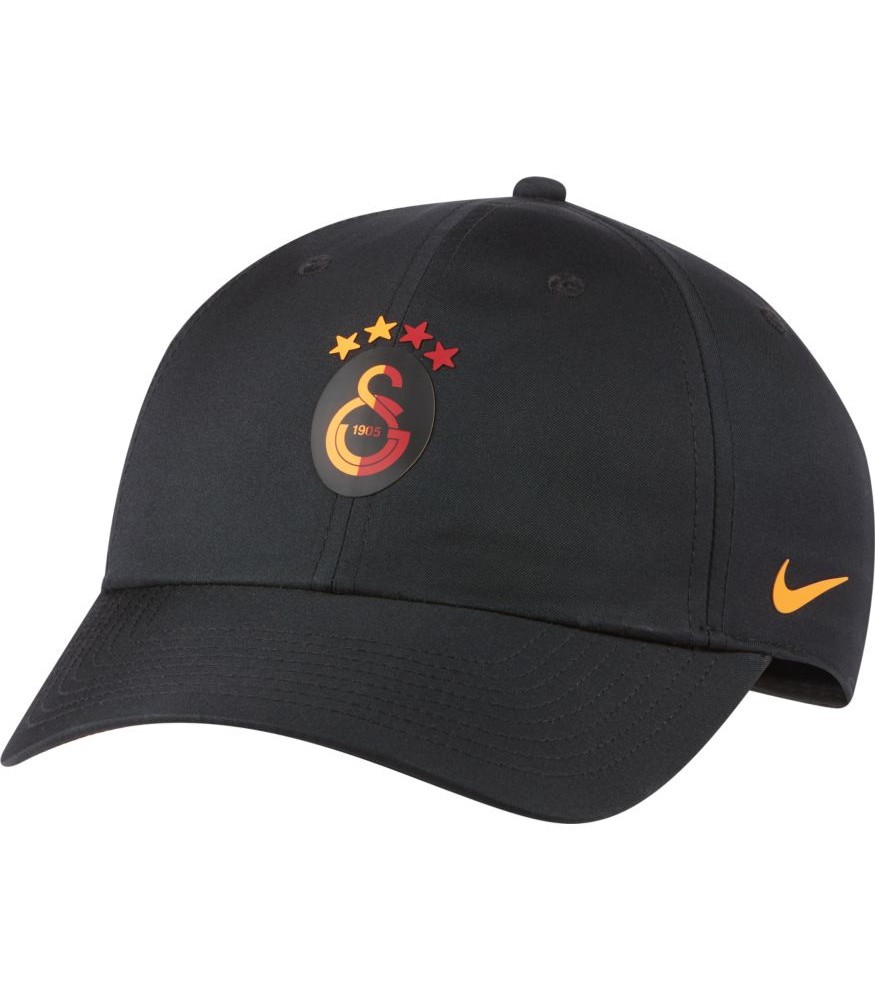 Galatasaray Nike Cappello Berretto tg Unisex Nero Heritage 86 0